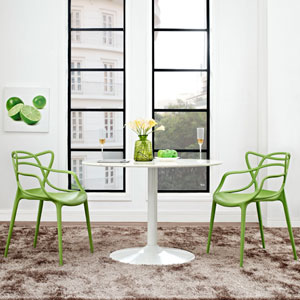 Entangled Dining Set  of 2 in Green
