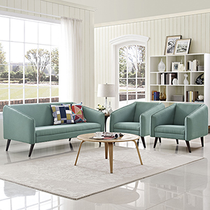 Slide Living Room Set Set of 3 in Laguna