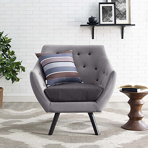 Allegory Armchair in Light Gray