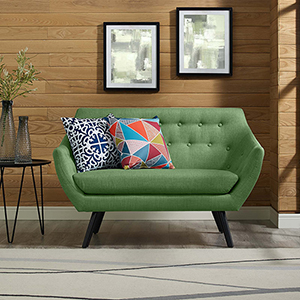Allegory Loveseat in Green