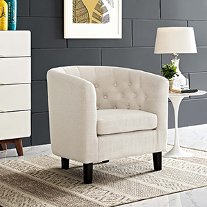 Prospect Upholstered Armchair in Beige