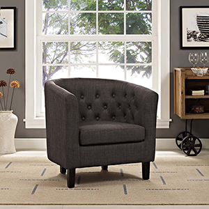 Prospect Upholstered Armchair in Brown