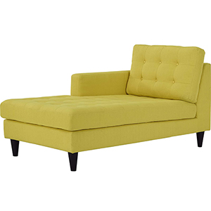 Modway Furniture Empress Upholstered Ottoman In Wheatgrass