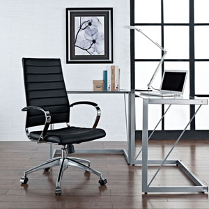 Jive Highback Office Chair in Black