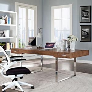 Tinker Office Desk in Walnut