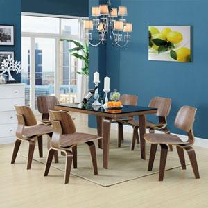 Fathom Dining Chairs Set of 6 in Walnut