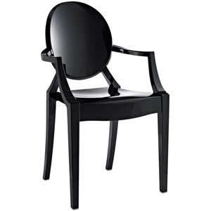 Casper Dining Chair in Black