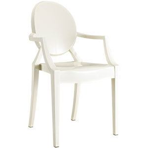 Casper Dining Chair in White