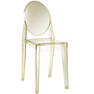 Casper Dining Chair in Yellow