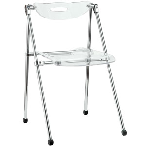 Telescope Dining Chair in Clear