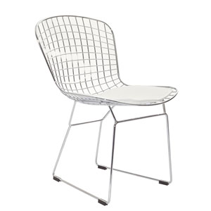 CAD Dining Chair in White