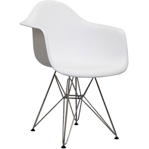 Paris Dining Chair in White