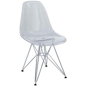 Eiffel Dining Chair in Clear