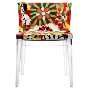 Flower Dining Chair in Clear