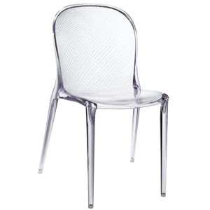 Scape Dining Chair in Clear