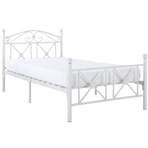 Cottage Bed Frame in White