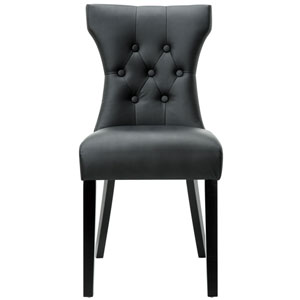 Silhouette Dining Chair in Black