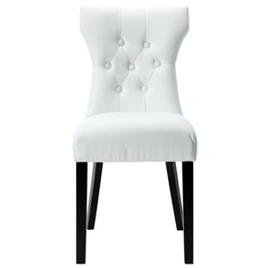 Silhouette Dining Chair in White