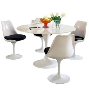 Lippa Dining Set in Black