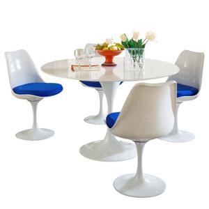Lippa Dining Set in Blue