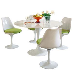 Lippa Dining Set in Green