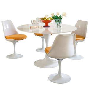 Lippa Dining Set in Orange