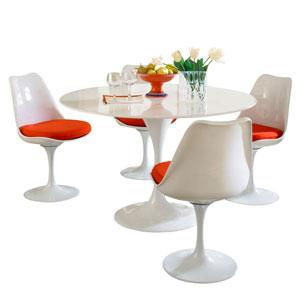 Lippa Dining Set in Red