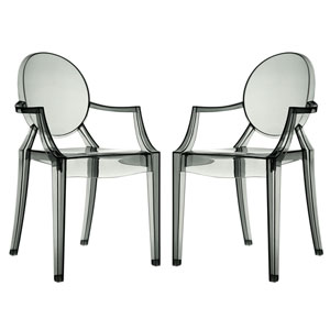 Casper Dining Chairs Set of Two in Smoke