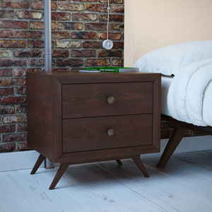 Tracy Nightstand in Cappuccino