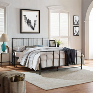 Estate Queen Bed in Brown