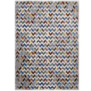 Gemma Chevron Mosaic 4x6 Area Rug