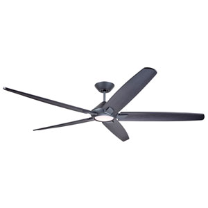 Dorian Graphite LED 72-Inch Eco Ceiling Fan