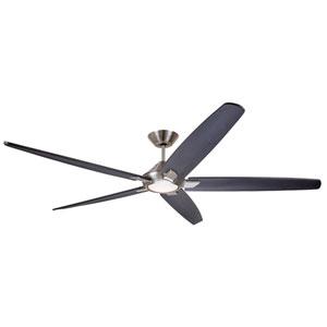 Dorian Brushed Steel LED 60-Inch Eco Ceiling Fan