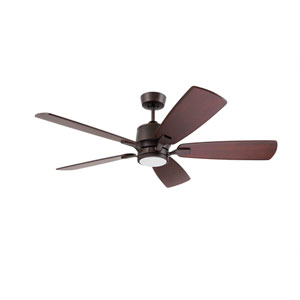 Oil Rubbed Bronze LED Blade Select Series Ion Eco Ceiling Fan
