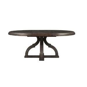 Vintage Salvage Makers 54-Inch Aiden Round Dining Table