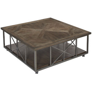 Vintage Salvage Makers 50-Inch Burton Cocktail Table