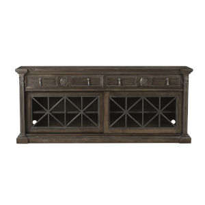Vintage Salvage Makers 80-Inch Townley Entertainment Console