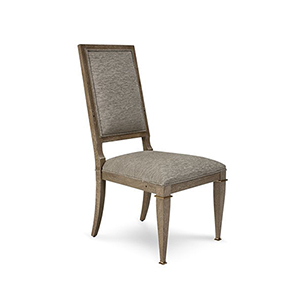 Cityscapes Stone Upholstered Back Side Chair, Set of 2