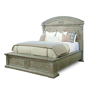 Arch Salvage Parch Queen Panel Bed