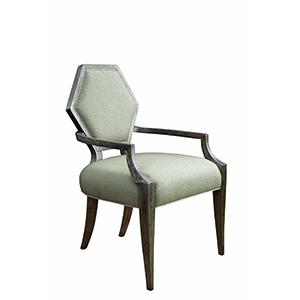 Geode Kona Druzy Arm Dining Chair