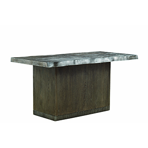 Geode Kona and Facet Mineral Kitchen Island