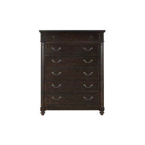 Lawrence Anabel Dark Cherry Tall Chest