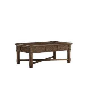 American Chapter Makers 48-Inch Veranda Storage Cocktail Table