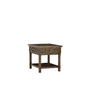 American Chapter Makers 24-Inch Veranda Drawer End Table