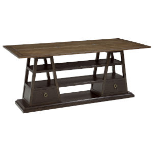 American Chapter Rye and Makers 72-Inch Apiary Hall Flip-Top Console Table
