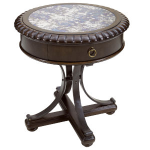 American Chapter Rye 26-Inch Briarwood Lamp Table