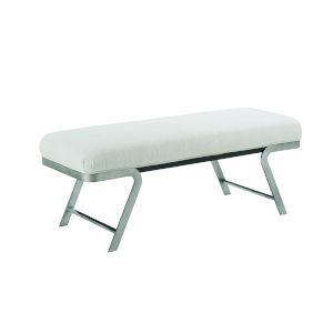 Prossimo Marrone  Bronze 52-Inch Figurati Bed Bench