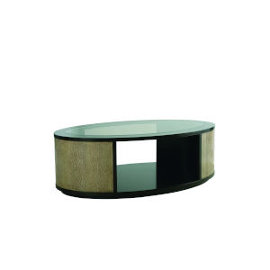 Prossimo Marrone and Pizza 50-Inch Cocktail Table