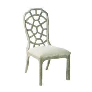 Summer Creek Scrubbed Oak 41-Inch Sugar Creek Side Chair, Set of Two