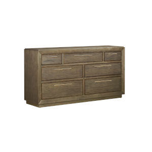 Woodwright Expresso 74-Inch Wright Dresser